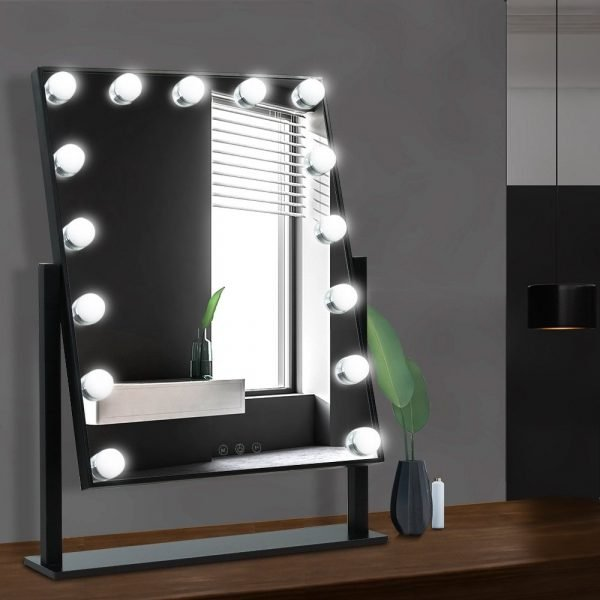 Embellir Hollywood Makeup Mirror, Embellir Hollywood Makeup Mirror With Light Led Bulbs Vanity Beauty